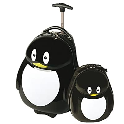 Skyflite Skykidz Penguin with FREE Matching Backpack 2087 by Skyflite Luggage Ltd