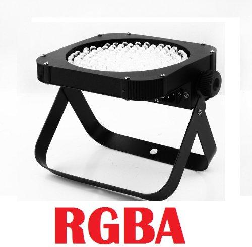 Led Slim Flat Rgba Par 64 Can Puck Style Dmx Dj Uplighting Light