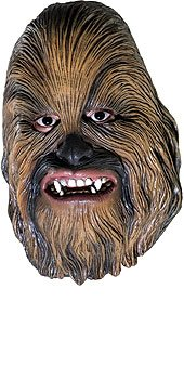Chewbacca 3/4 Vinyl Mask Costume Accessory front-508817