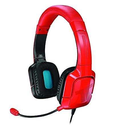 Mad Catz - Auricular Tritton Kama, Color Rojo (PS4, PS Vita)