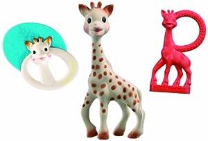 Vulli 516345 - Juego de accesorios para recién nacido, diseño de Sophie la jirafa marca Vulli en Bebe Hogar
