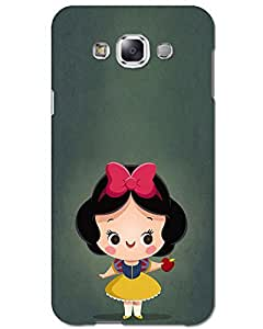 Hugo Samsung Galaxy J7 (2016) Back Cover Hard Case Printed Designer Multicolour
