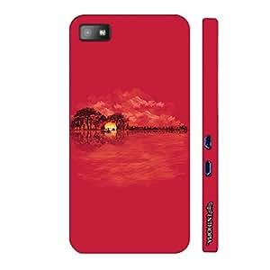 Blackberry Z10 Guitarscape designer mobile hard shell case by Enthopia