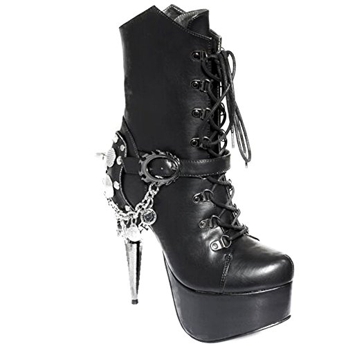 Womens-Hades-Envy-High-Heel-Platform-Boot-Black