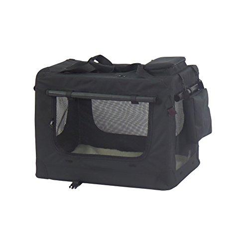 Faltbare-Oxford-Gewebe-Hundetransportbox-Transportbox-Hundebox-Katzenbox-mit-seitlichem-Einstieg-L70-x-52-x-52-cmSchwarz