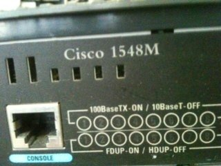 Cisco Systems 1548m Micro 10/100 8-port Network Ethernet Switch