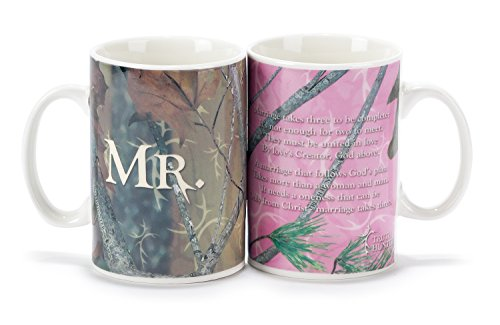 Mr. and Mrs. Mug Set - Camouflage/Truth Hunter(TM) (Camouflage Coffee Mug compare prices)