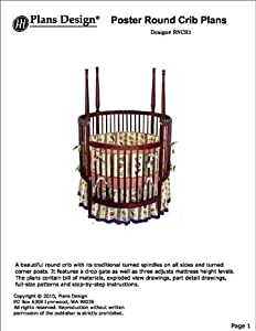 Round Crib Woodworking Plans