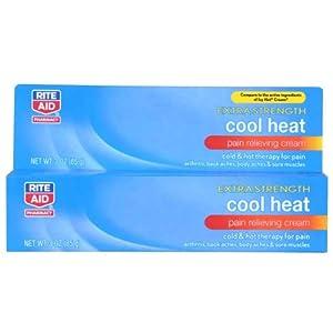 Amazon.com: Rite Aid Cool Heat Pain Relieving Cream, Extra