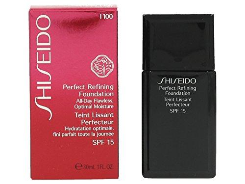 Shiseido Fondotinta, Perfect Refining Foundation, SPF 15, 100 ml, I100 30 Ml