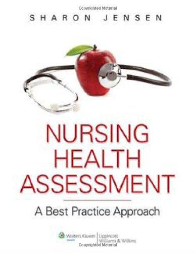 Nursing Health Assessment: A Best Practice Approach front-1068494