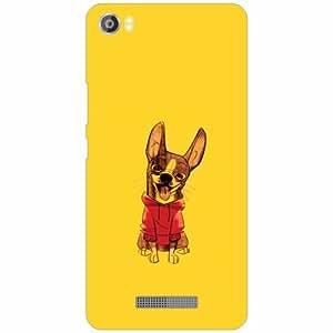 Lava Iris X8 Back Cover - Silicon Dog Designer Cases