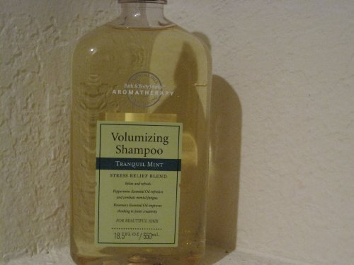 Bath & Body Works Volumizing Shampoo Stress Relief Blend Tranquil Mint