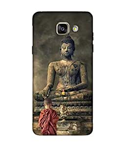 small candy 3D Printed Back Cover For Samsung Galaxy A5 2016 -Multicolor buddha