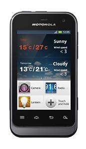 Motorola DEFY Mini Sim Free Smartphone - Black Slate and Tangerine