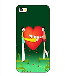 instyler BACK COVER CASE FOR APPLE I PHONE 5
