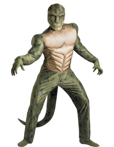 Lizard Classic Muscle Adult Costume 42-46 Adult Mens Costume