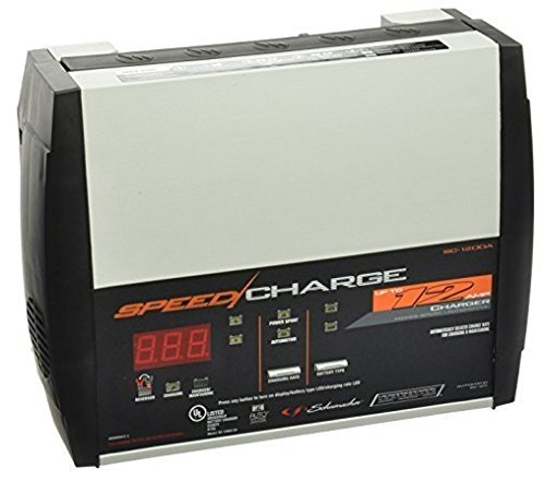 Schumacher SC-1200A-CA SpeedCharge 12Amp 6/12V Fully Automatic Battery Charger (Car 12v Battery Charger compare prices)
