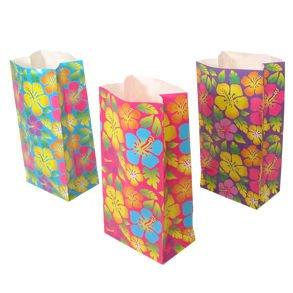 Hibiscus Print Goody Bags