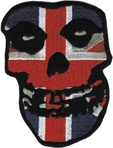 Application Misfits British Skull Patch (Misfits British compare prices)