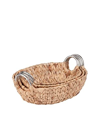 Honey-Can-Do Set of 3 Oval Nesting Baskets