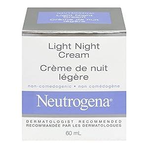 neutrogena light night cream health personal care. Black Bedroom Furniture Sets. Home Design Ideas