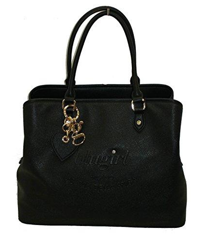 Borsa BLUGIRL by blumarine BG1505 handbag shopping grande nero