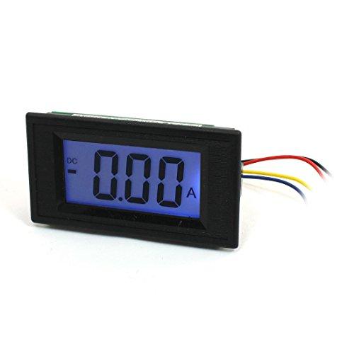 DC 0-5A 7 Segmente Blau LCD-Anzeige Stromtester-Panel Ammeter