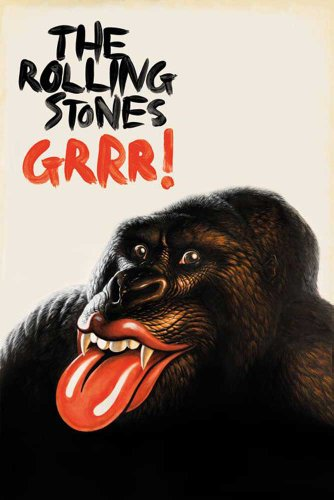 Rolling Stones, The Poster Grrr + articolo aggiuntivo Ü-Poster der Grösse 61x91,5 cm
