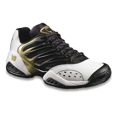 wilson tour ii s tennis shoe white black