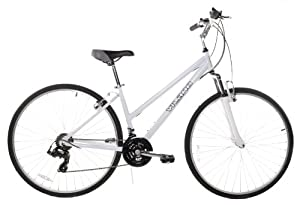 C1 Women's 700c Comfort Hybrid Bicycle Shimano 21 Speed