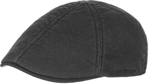 glensfalls-flex-schirmmutze-by-stetson-s-m-54-57-schwarz
