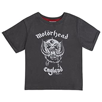 Amplified Kids Motorhead England Vintage Wash T-Shirt (7 to 8 Years)