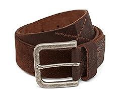 Breakbounce Men's Leather Belt (8907066079792_Small_Brown)