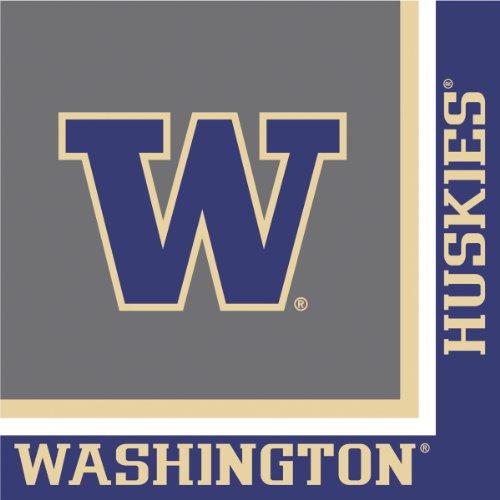 Creative Converting University Of Washington Huskies Luncheon Napkins (20 Count) front-518557