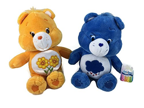 Care Bear Bundle. 2 Items:1Grumpy Bear, 1 Friend Bear (Best Friend Care Bear compare prices)