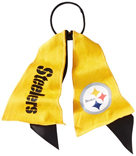 NFL Pittsburgh Steelers Ponytail Holder, Yellow
