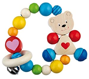 Heimess Touch Ring Elastic Bear with Heart