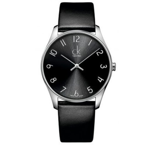 Calvin Klein K4D231CX 24mm Stainless Steel Case Crocodile Mineral Women's Watch