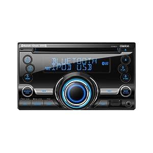 4. Clarion CX501 Double-DIN CD/Bluetooth/USB Receiver. Precio: $188.67