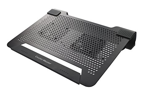 Cheapest Price! Cooler Master NotePal U2 - Laptop Cooling Pad with 2 Movable Fans