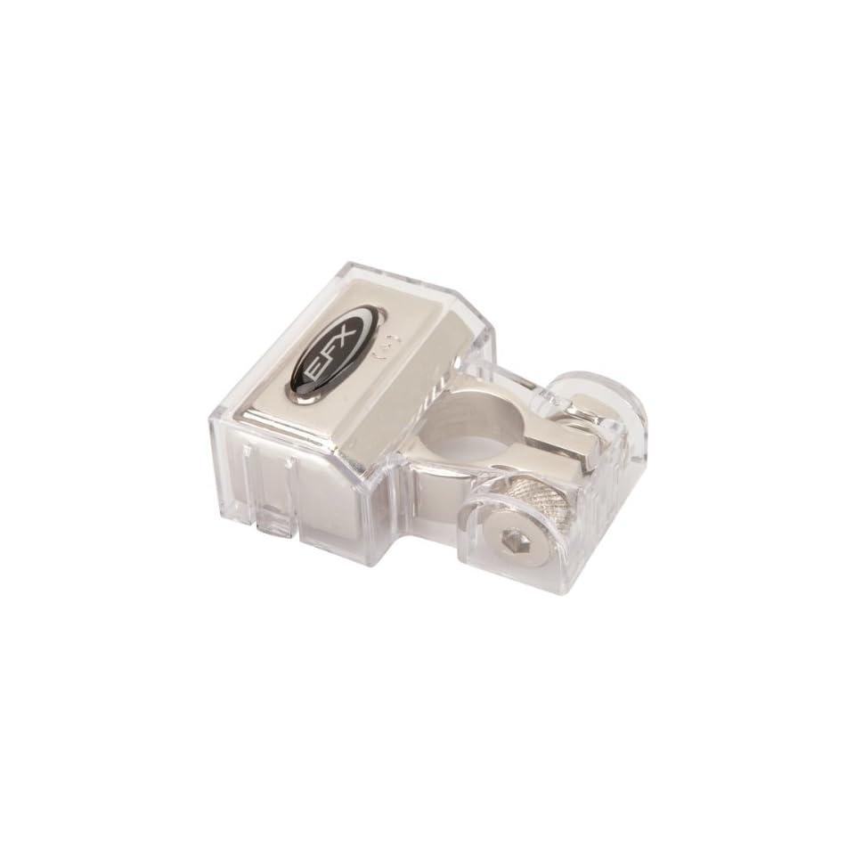 100 Pack Scosche P8Rti-100 8-Gauge Ring Terminals