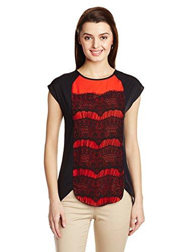 Madame Madame Women's Plain T-Shirt (Multicolor)