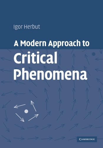 A Modern Approach to Critical Phenomena