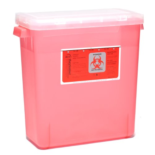 Sharps by Mail Disposal-3 Gallons (Biohazard Container Mail compare prices)