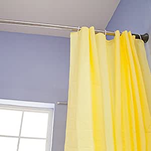 Byn Shower Curtain Tension Rod Rust Proof 56 To 94 Inch Home Kitchen