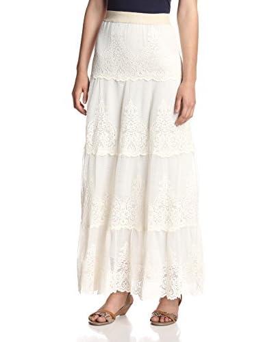 Beatrice B Women's Lace Maxi Skirt