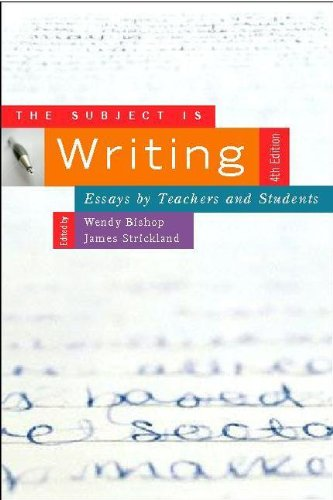 the subject is writing essay by teacher and student Interesting personal essay ideas a personal essay gives the reader a glimpse of your personal life experience a lot of times you may need to compose a personal essay it could be for a simple class assignment, or the requirement for a college application in order to gain ideas of writing a personal essay, you can get inspired by the listed.