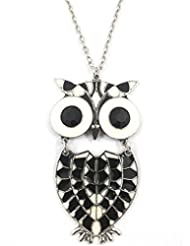 Ammvi Creations Owl Dynasty-Tribal Owl Pendant Necklace For Women