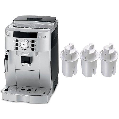 DeLonghi ECAM22110SB Compact Automatic Cappuccino, Latte and Espresso Machine and Culligan PR-3 Level 2 Pitcher Filter Replacement Cartridge, 3-Pack Bundle (Delonghi Replacement Pump compare prices)